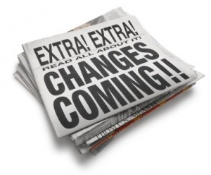 Change is the new status quo