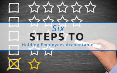 {Guest Post} 6 Steps to Holding Employees Accountable