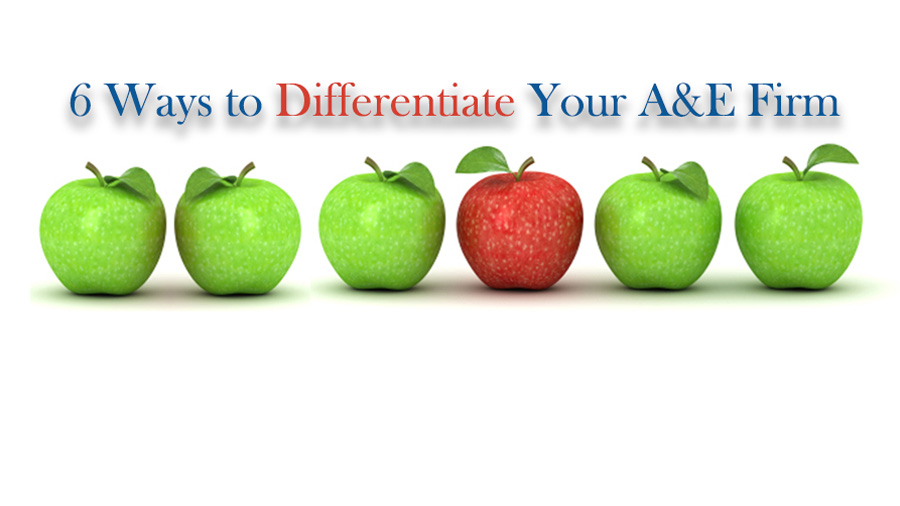 6 Ways to Differentiate Your A&E Firm