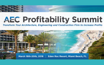 Protected: Top 10 Reasons to Attend the AEC Profitability Summit 2018